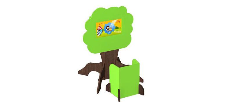 borne interactive arbre