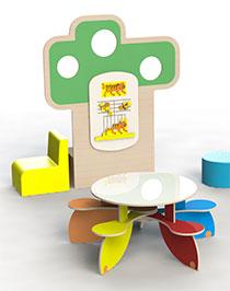 table à jouer
