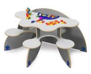 Table trèfle personnalisé