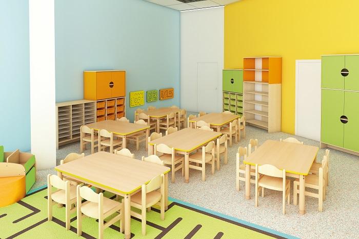 couleurs en maternelle classe