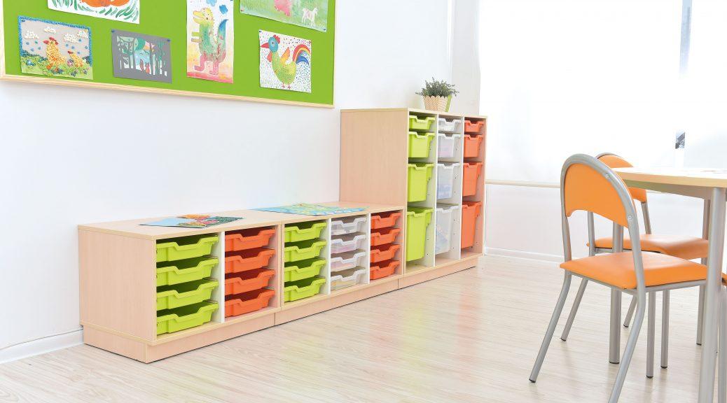 couleurs en classe maternelle