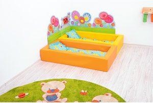 espace sieste maternelle confort