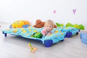 espace sieste maternelle bien etre enfant